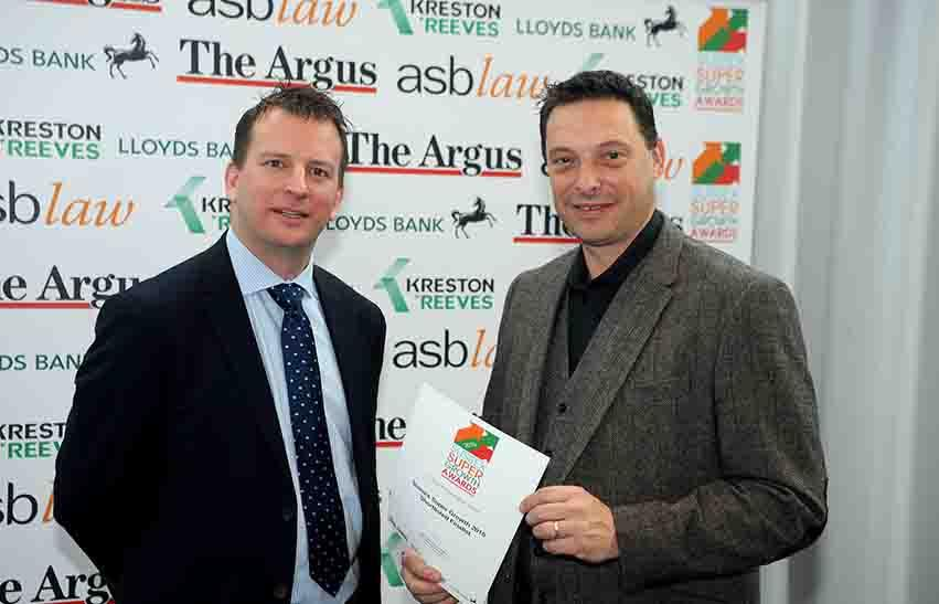 Sussex Super Growth award for Atwell Labellers